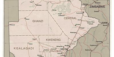 Harta Geografică A Africii De Sud Harta Africa De Sud Geografice